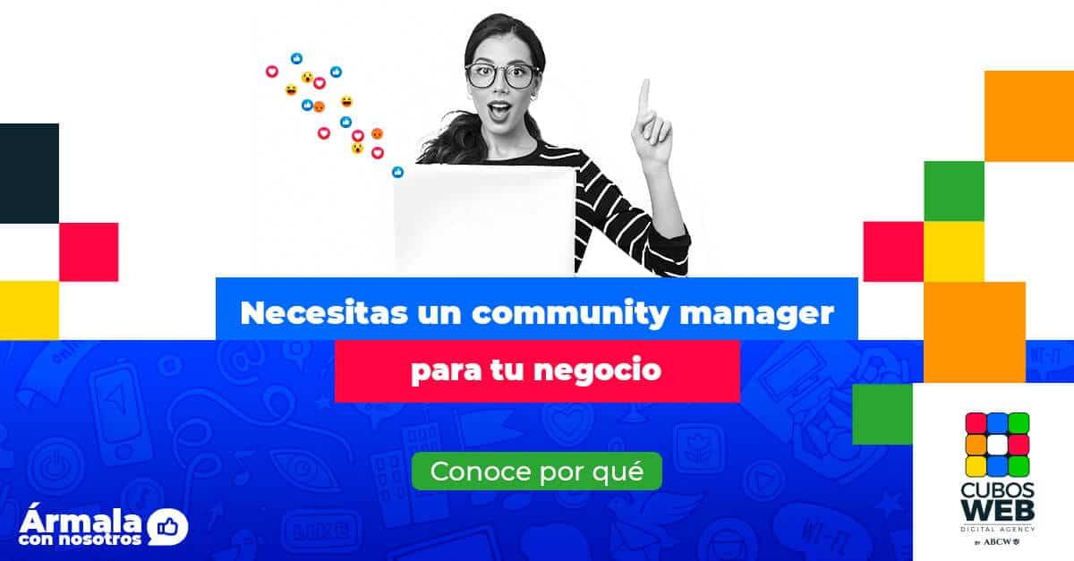 Un Community Manager gestiona las redes sociales para que tu marca tenga más presencia en la web