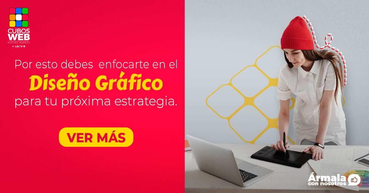 Mejora tu sitio web con el servicio de diseño gráfico de Cubos Web